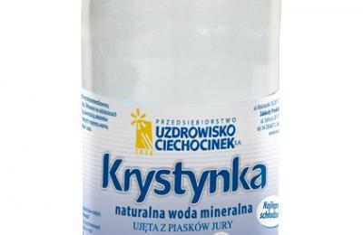 Krystynka - woda mineralna 2