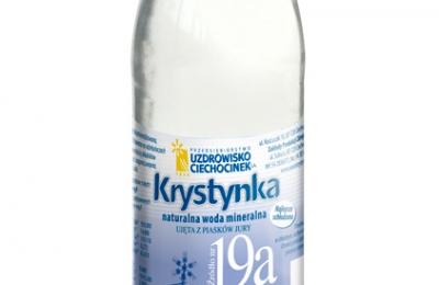 Krystynka - woda mineralna