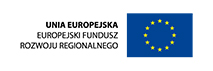 Unia Europejska - Uropejski Fundusz Rozwoju Regionalnego - logo