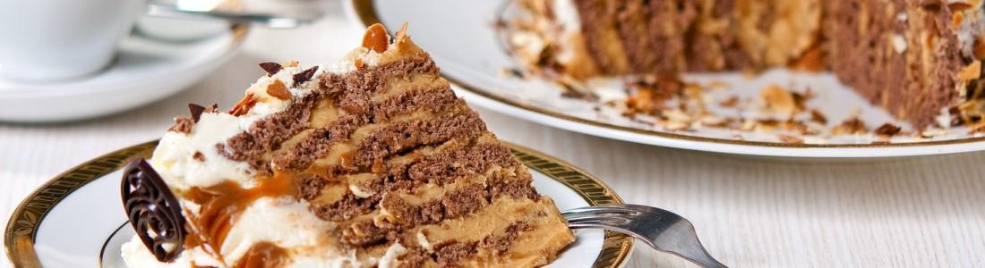 Oryginalny tort kajmakowy